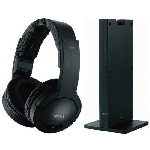 Sony Noise Reduction 150 Feet Long Range Wireless Dynamic Stereo Headphones With Volume Control & Wide Comfortable Headband For All Vizio M190Mv, M190Va, M190Va-W, M220Va, M220Va-W, M260Mv, M260Va, M260Va-W, M261Vp Lcd Hdtv Flat Screen Television