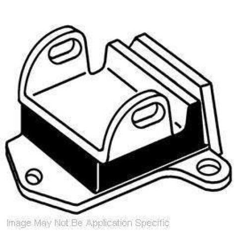 Westar Em2943S Solid Replacement Engine Mount