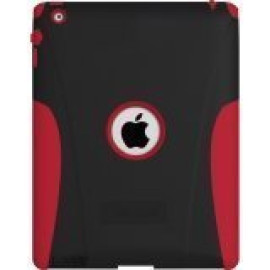 Targus SafePort Rugged Case, Everyday Protection for iPad 2, 3, and 4, Red (THD04503US)