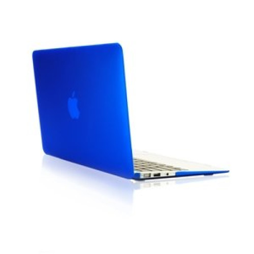 TopCase Rubberized Hard Case Cover for Macbook Air 13 (A1369 and A1466) with TopCase Mouse Pad (ROYAL BLUE)
