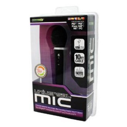 Universal Microphone for Wii, PS3, Xbox 360, PS2, PC