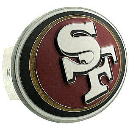 Siskiyou San Francisco 49ers Large Logo Hitch Cover - San Francisco 49ers One Size