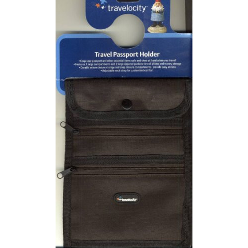 Travelocity Travel Passport Holder