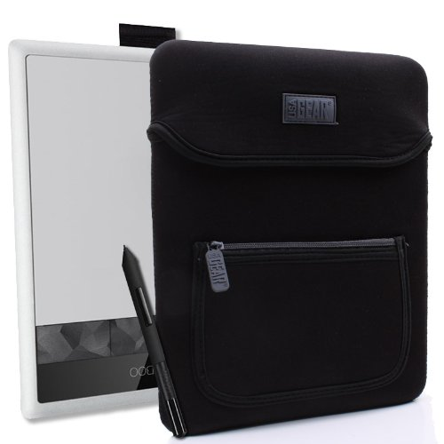 USA Gear Neo-Cushion Wacom Bamboo Capture , Connect Pen Writing Tablet Case Sleeve - Includes Stylus Pocket