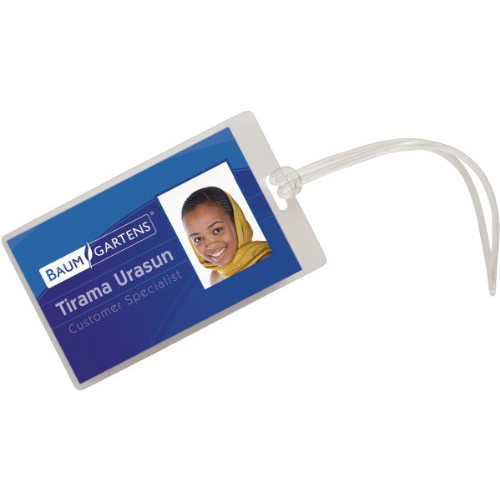 Luggage Tags With Worm 5/Pkg-