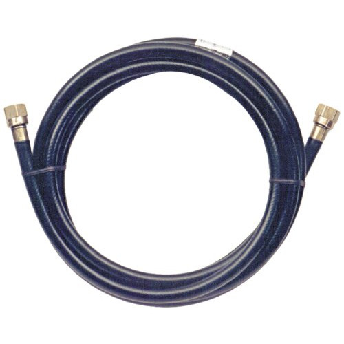 Trident Marine 1014-3838-120 L.P. Gas Supply Line Hose, 10', Brass Fittings