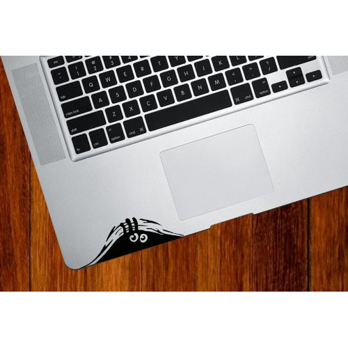 Undercover - Trackpad / Keyboard - Vinyl Decal
