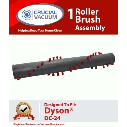 Crucial Vacuum  1 Dyson DC24 Roller Brush Assembly, Designed to Fit Dyson DC24 Ball Uprights, Compare to Dyson Part No.917390-02, 917390-01