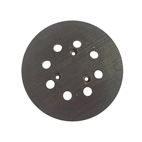 Superior Pads And Abrasives Rsp27 5 Inch Diameter 8 Hole Sander Hook And Loop Pad Replaces Makita Part Number 743081-8, 743051-7 And Hitachi Part Number 324-209