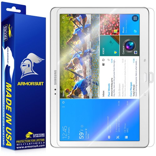 ArmorSuit MilitaryShield - Samsung Galaxy TabPRO 10.1 Screen Protector Shield Ultra Clear + Lifetime Replacements