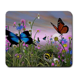 Butterflies Large Mousepad mouse pad Great Gift Idea