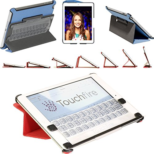Touchfire for iPad mini - Case • Sound Booster • Magnetic Mount • Keyboard - Black