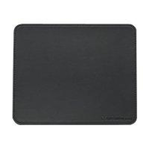 Manhattan Premium 423267 Leather Mouse Pad for Optical and Laser Mouse- Black