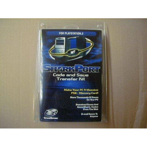 SharkPort for PS2  Code and Save Transfer Kit