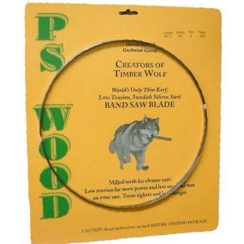 Timber Wolf Bandsaw Blade 105 x 1/2 x 4 TPI x .025 Thickness