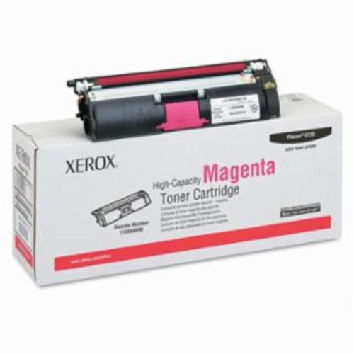 XEROX BR PHASER 6180 1-SD YLD BLACK TONER, 3k yield