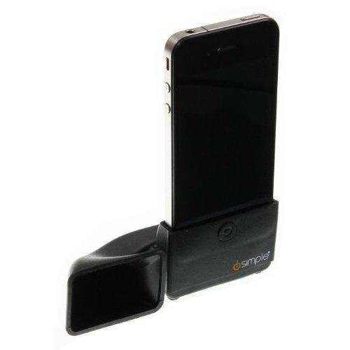 iSimple IS5601 Portable megaPhone Amplifier for iPhone - Retail Packaging - Black