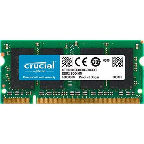 Crucial 2Gb Ddr2 800 Mhz (Pc2-6400) Cl6 Sodimm 200-Pin For Mac (Ct2G2S800M)