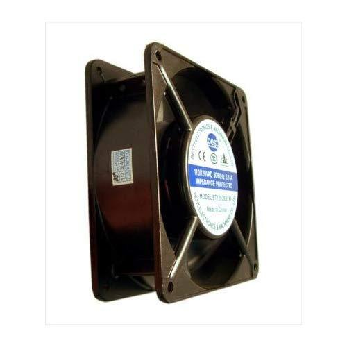 """Best Electronics 120X120X38Mm Ac Fan With Thermal Switch Bt12038B1M ; 36"""" Power Cord"""