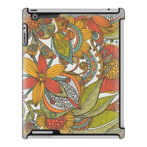 Uncommon Llc Valentina Ramos Doodles And Flowers Deflector Hard Case For Ipad 2/3/4 (C0050-Ty)