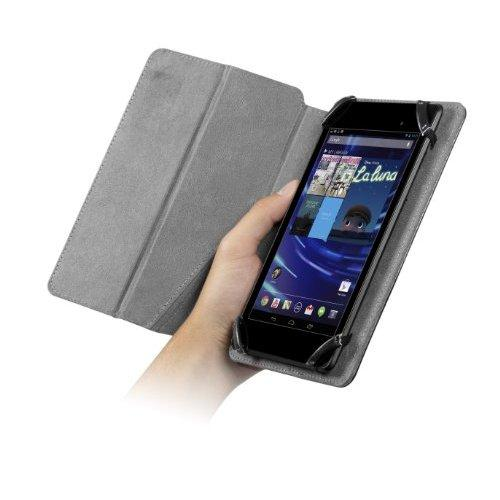 Chil Notchbook Premium Leather Cover For Universal 7-Inch Tablets - Black (0112-0121)