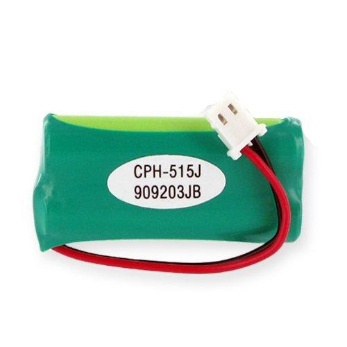Vtech CS6829 Cordless Phone Battery Ni-MH 2xAAA J connector, 2.4 Volt, 750 mAh - Ultra Hi-Capacity - Replacement for Rechargeable Battery
