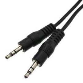 3.5Mm Stereo Cable, 3.5Mm Male, 25 Foot