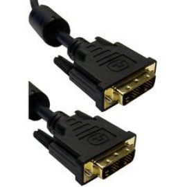 Dvi-D / Dvi-D Single Link Cable With Ferrite, 25 Foot