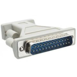 Serial / At Modem Adapter, Db9 Male To Db25 Male