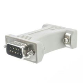 Serial / At Modem Adapter, Db9 Male To Db9 Male