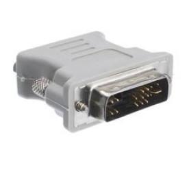 Dvi-A To Vga Analog Video Adapter, Dvi-A Male To Hd15 Female