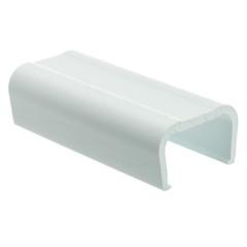 3/4 Inch Surface Mount Cable Raceway, White, Joint Cover