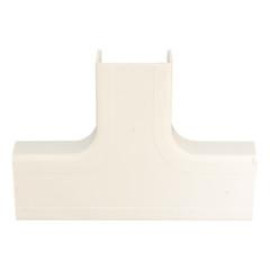3/4 Inch Surface Mount Cable Raceway, Ivory, Tee