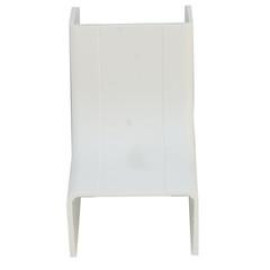 3/4 Inch Surface Mount Cable Raceway, White, Inside Corner/Base