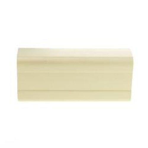 1.75 Inch Surface Mount Cable Raceway, Ivory, Joint Cover