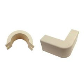 1.75 Inch Surface Mount Cable Raceway, Ivory, Outside Elbow, 90 Degree