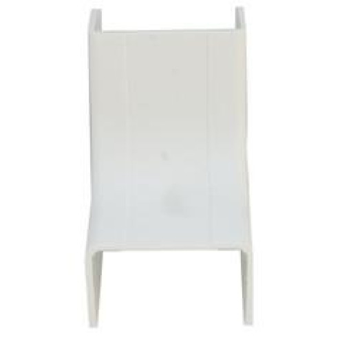 1.75 Inch Surface Mount Cable Raceway, White, Inside Corner/Base