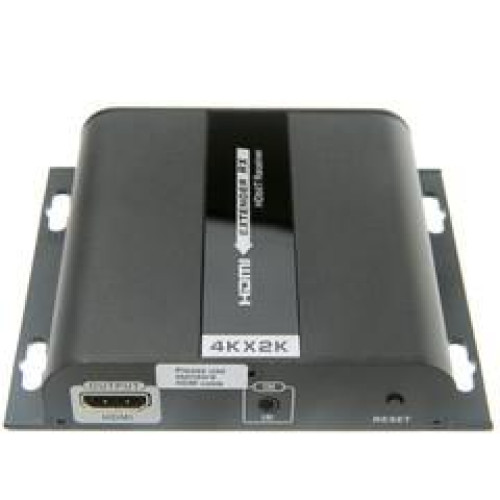 4K Hdmi Extender Over Cat5E/6/Local Network With Ir Return, 120 Meter / 390 Foot Max Range