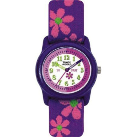 Timex Youth Time Teacher With Flowers Watch