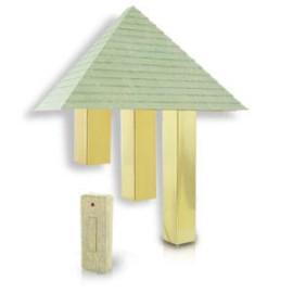 Artworks Home Dcor Wireless Pyramid Door Chime