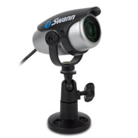 Swann Compact Indoor Security Camera - Silver/Black
