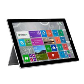 PerfectFit GlassShield Screen Protector For Surface Pro 3, Diamond Clear