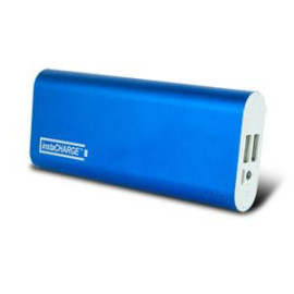 instaCHARGE 8800mAh Dual USB Power Bank Portable Battery Charger - Blue
