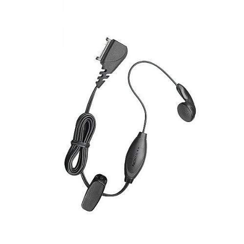 Nokia Hands-Free Headset With Remote Button Compatible With Nokia 3100/3200 / 5100/6100 / 6610/6220 / 6800/7210 / 7250 / 7250I