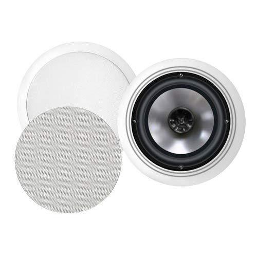 Bic America Fh6-C 6.5-Inch 150-Watt 2-Way In-Ceiling Speakers With Swivel Mid/High Frequency Horns