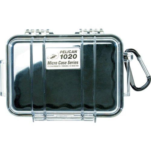 Waterproof Case | Pelican 1020 Micro Case - For Gopro, Camera, And More (Black)
