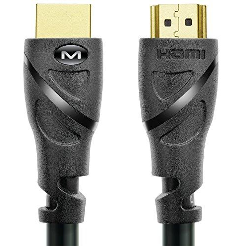 Mediabridge Hdmi Cable (3 Feet) Supports 4K@60Hz, High Speed, Hand-Tested, Hdmi 2.0 Ready - Uhd, 18Gbps, Audio Return Channel