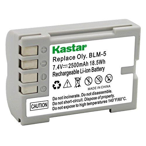 Kastar Lithium-Ion Battery Blm-5 Replacement For Olympus E-5, Olympus E1, Olympus E3, Olympus E30 Camera