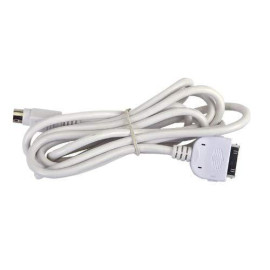Power Acoustik Ip-5C Full Function Ipod Connection Cable For All Ingenix Multimedia Source Units And Oem Upgades