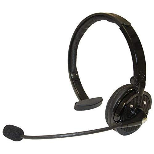 Zelher P20 Over The Head Noise Canceling Bluetooth Headset For Cellphones 21 Hour Talk Time & 4X Noise Cancelling 1 Year Warranty